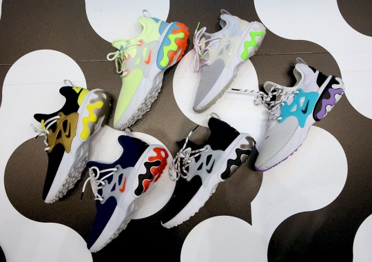The Nike React Presto Revives The Original Illustrated Series For Debut Collection
