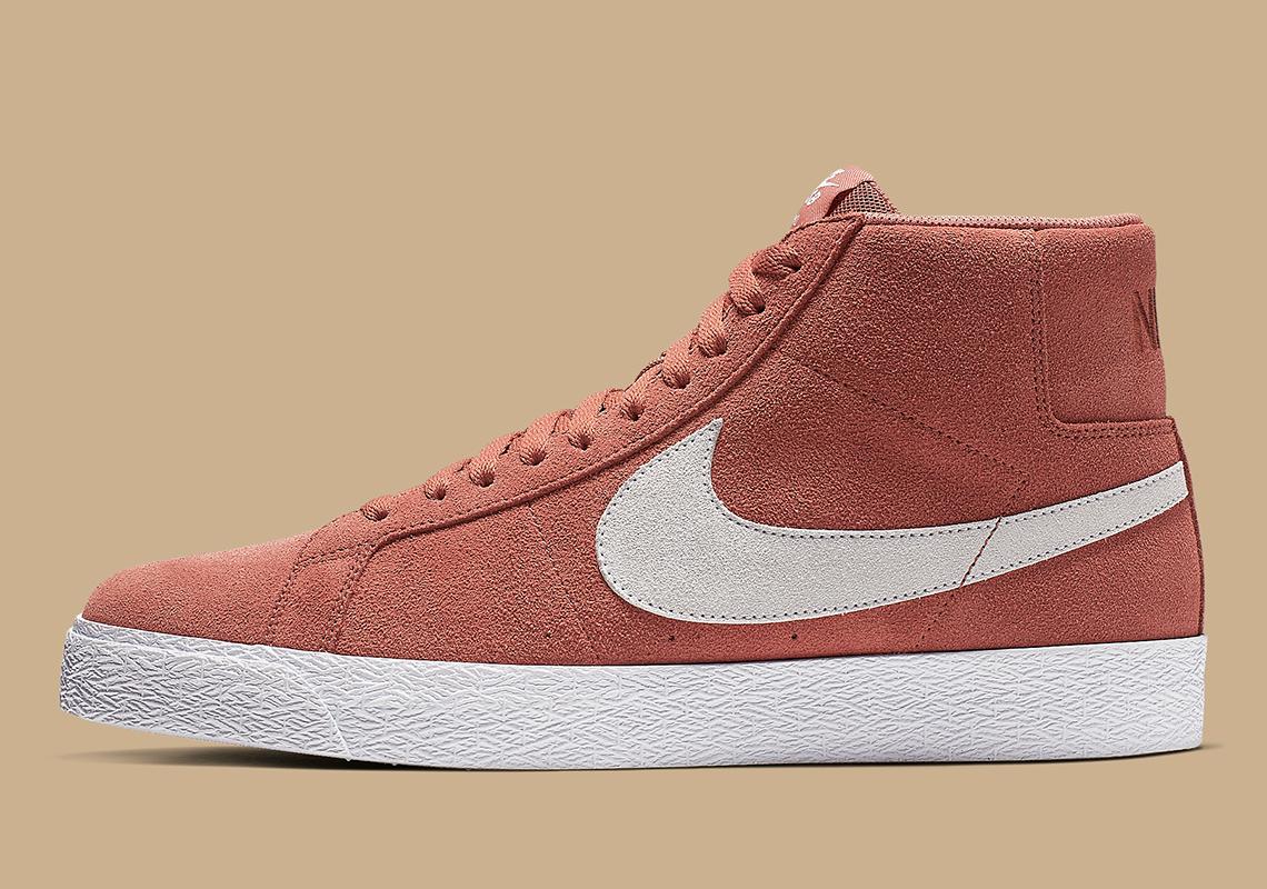 Nike SB Blazer Mid Dusty Peach 864349