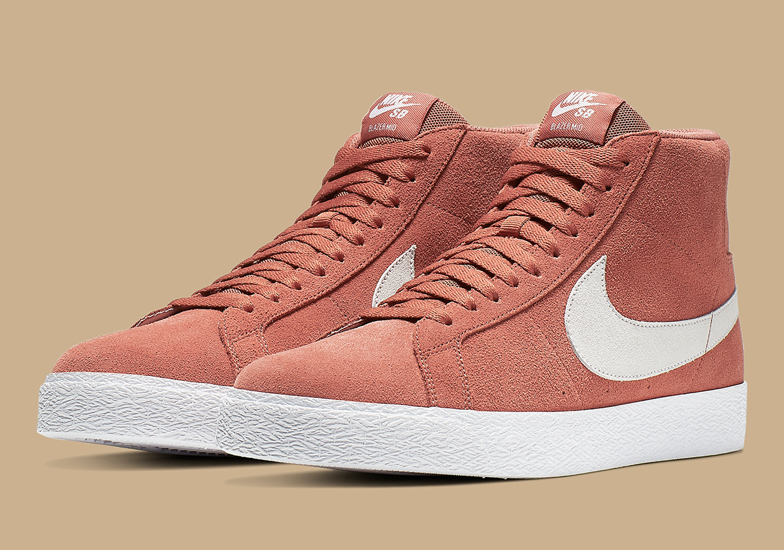 Nike SB Blazer Mid Dusty Peach 864349-201   SneakerNews.com
