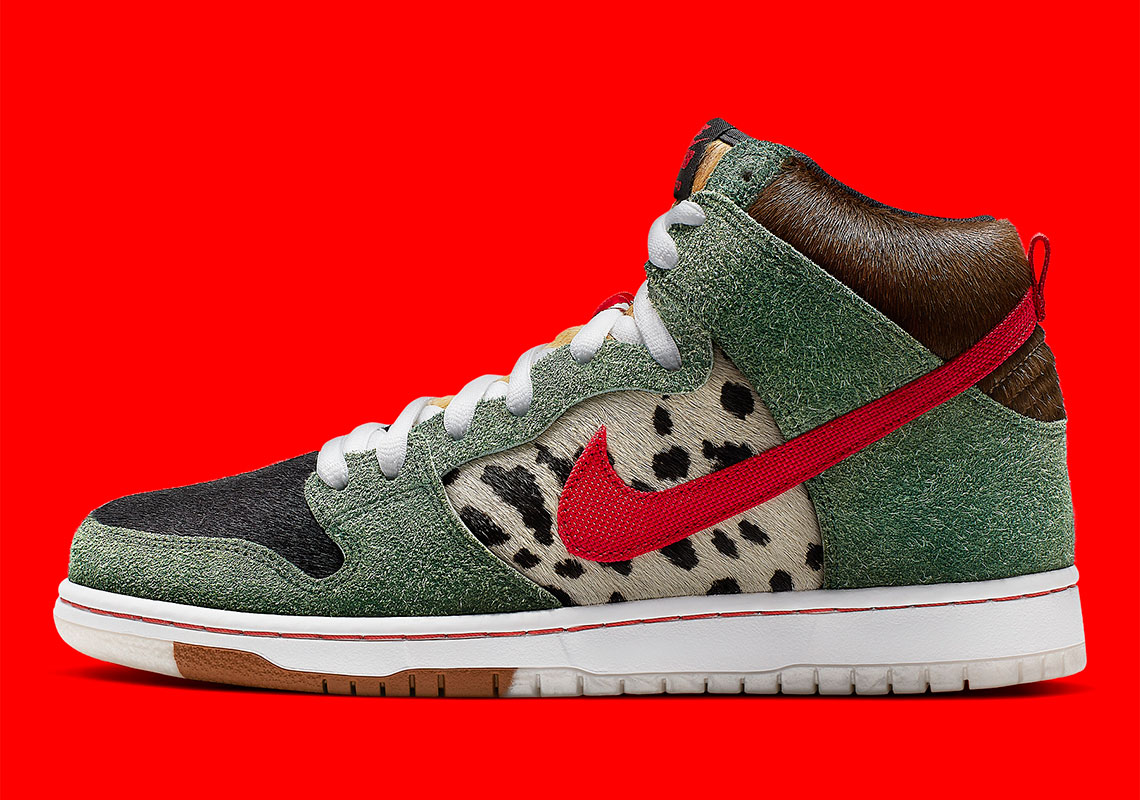 online for sale meet look out for Nike SB Dunk High Dog Walker BQ6827-300 Release Date ...