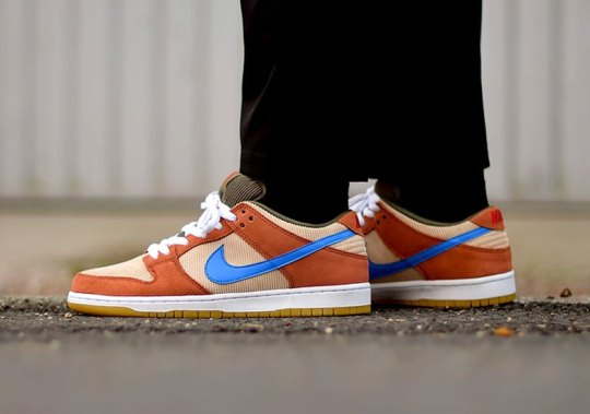 "Nike SB Dunk Low ""Corduroy"" Is Hitting Stores Now"