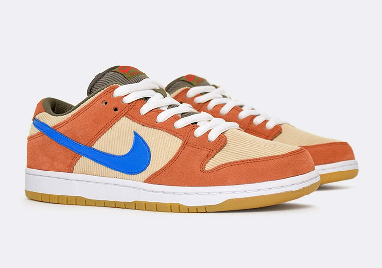 new concept 181f7 37336 Nike SB Dunk Low Corduroy BQ6817-201 Release Date   SneakerNews.com