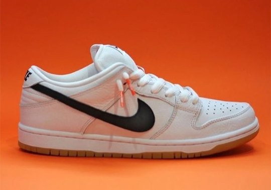Nike SB's Orange Label To Release A White Dunk Low