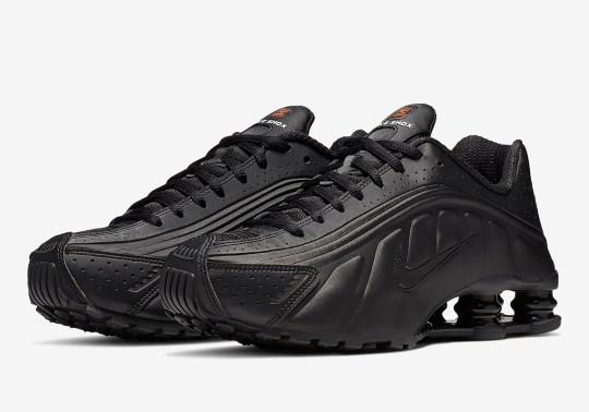 The Nike Shox R4 Returns In A Tonal Black Colorway