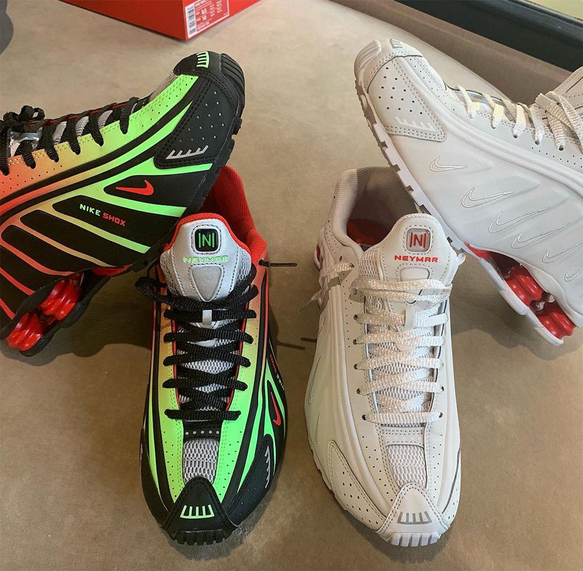 timeless design a2b96 0a896 Neymar Jr. Reveals Upcoming Nike Shox R4 Collaboration