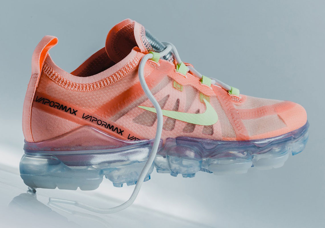 """sports shoes a81d4 cb7f3 The Nike Vapormax 2019 """"Melon"""" Is Available Now"""