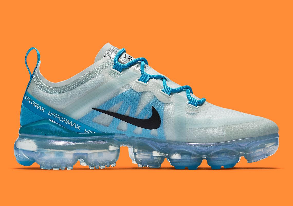 3bb1f414fe Nike Vapormax 2019 AR6632-003 Barely Grey Blue   SneakerNews.com