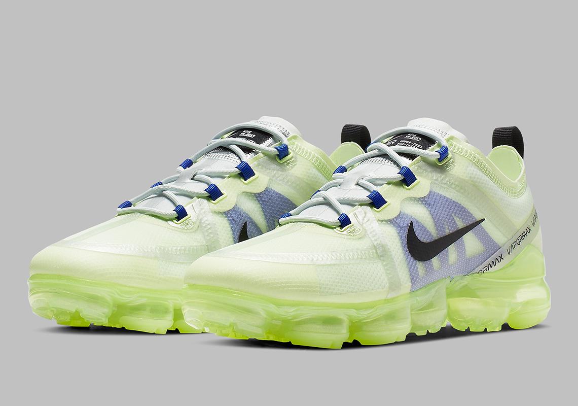 Agotamiento Inactivo Ambigüedad  Nike Vapormax 2019 Barely Volt AR6631-702 Release Info | SneakerNews.com