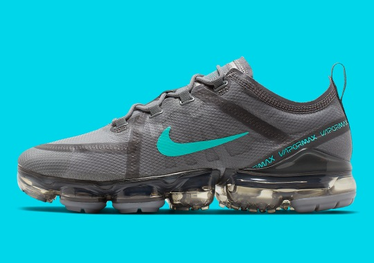 "best sneakers 922b3 1d7b0 The Nike Vapormax 2019 ""Hyper Jade"" Offers A New Stylish Colorway For Summer"