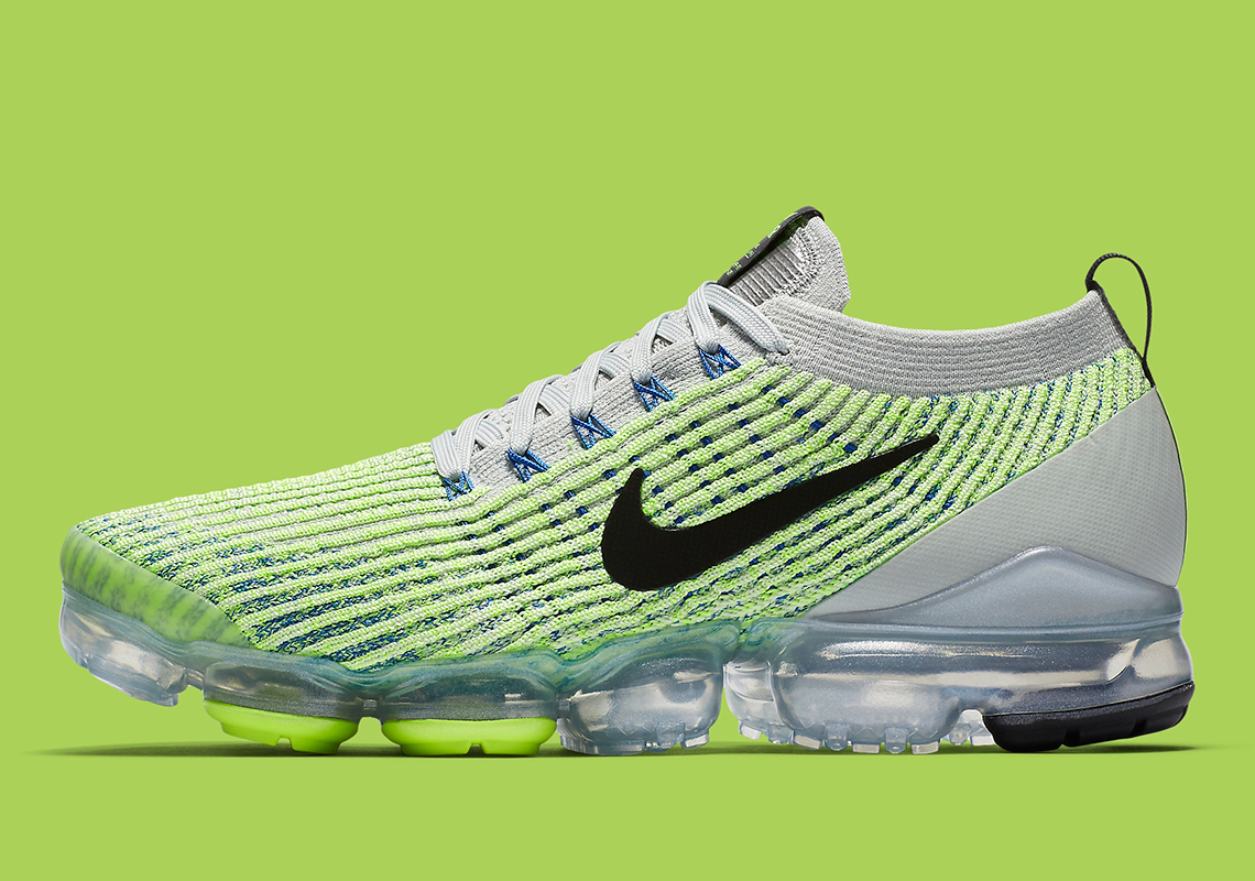 35882741281fb Nike Vapormax Flyknit 3.0  190. Color  Barely Volt Grey