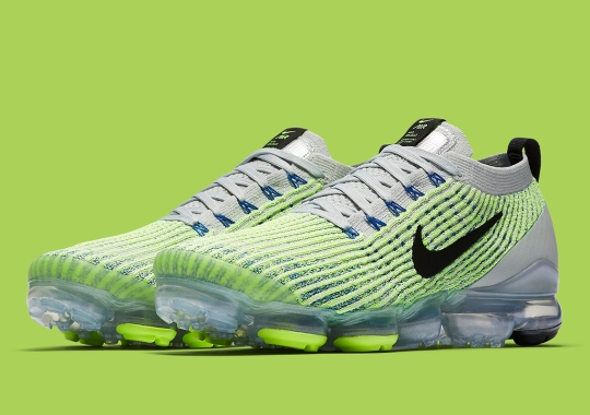 "Nike's Vapormax Flyknit 3.0 Receives A ""Barely Volt"" Makeover"