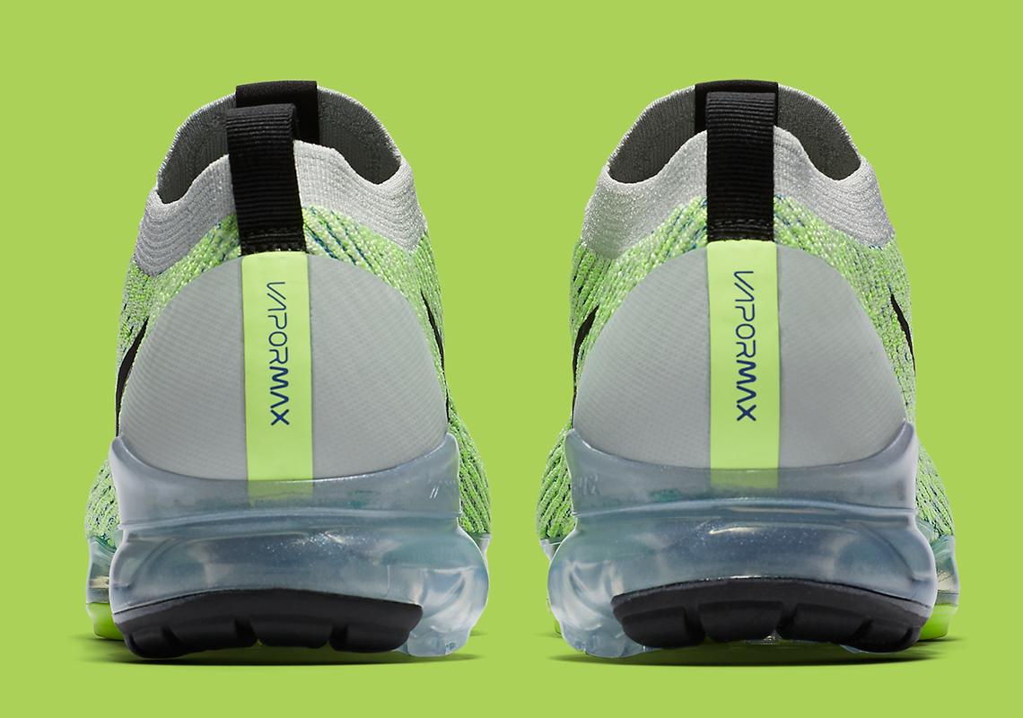 68692efbb55 Nike Vapormax Flyknit 3.0 Barely Volt AJ6900-005