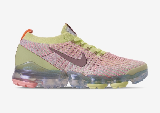 002f84b0add5e The Nike Vapormax Flyknit 3 Arrives In Time With Easter Tones