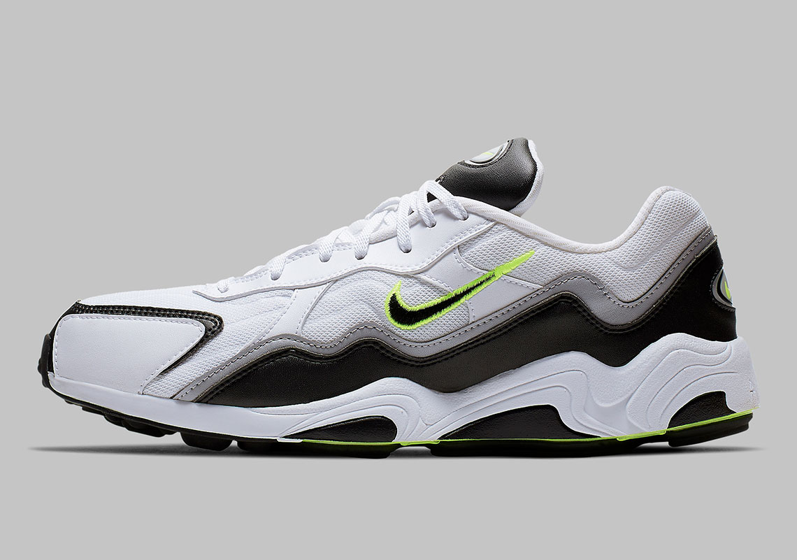 purchase cheap 86aac e9593 The Nike Zoom Alpha Returns In A Classic Grey And Volt Scheme
