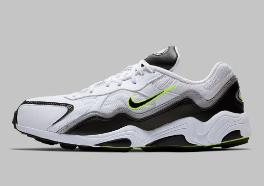 The Nike Zoom Alpha Returns In A Classic Grey And Volt Scheme