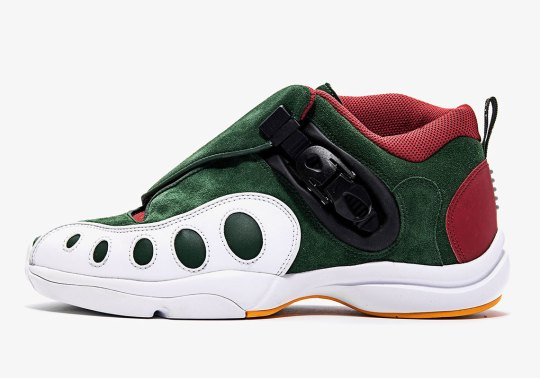The Nike Zoom GP Honors Seattle Sonics Uniforms From The Late 1990s