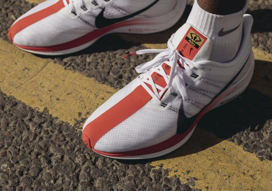 Nike Creates Special Zoom Pegasus 35 Turbo For Mo Farah And The London Marathon
