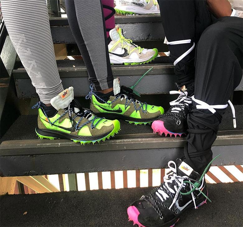 Virgil Abloh Off-White Nike Shoe