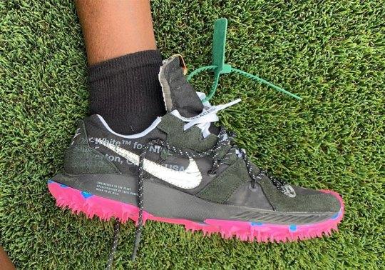 Virgil Abloh Debuts New Off-White x Nike Shoe At Coachella