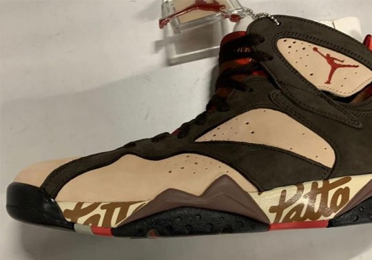First Look At The Patta x Air Jordan 7