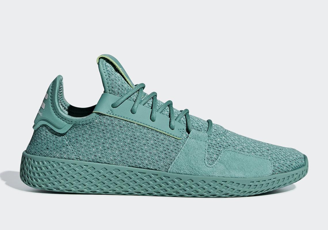 9e39137a95367 Pharrell s adidas Tennis Hu V2 Appears In More Monochromatic Tones