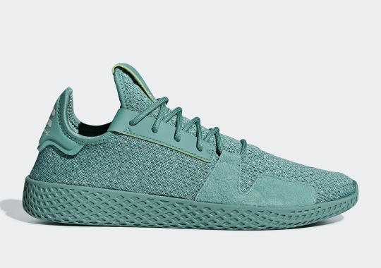 Pharrell's adidas Tennis Hu V2 Appears In More Monochromatic Tones
