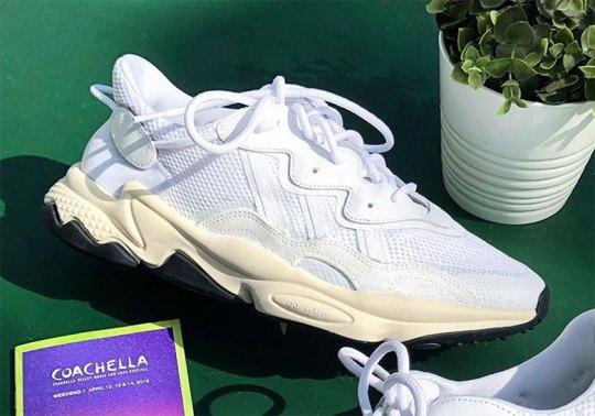 """Pusha T Reveals adidas Ozweego """"Nose Candy Mandy"""" At Coachella"""