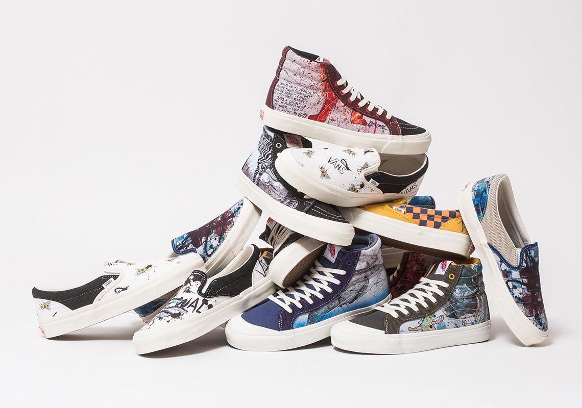f60285d983a1 Where To Buy The Ralph Steadman x Vans Vault Footwear Collection
