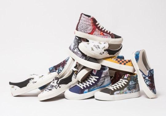 Where To Buy The Ralph Steadman x Vans Vault Footwear Collection