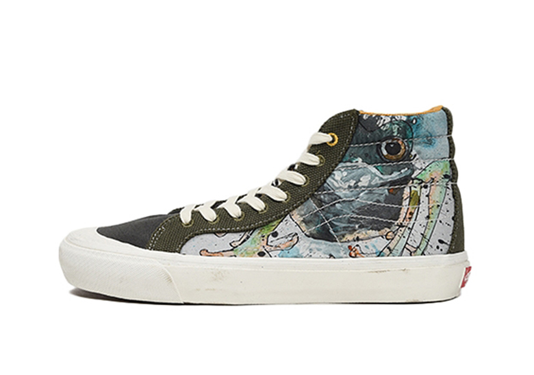 Where To By Ralph Steadman Vans Shoes Sneakernews Com
