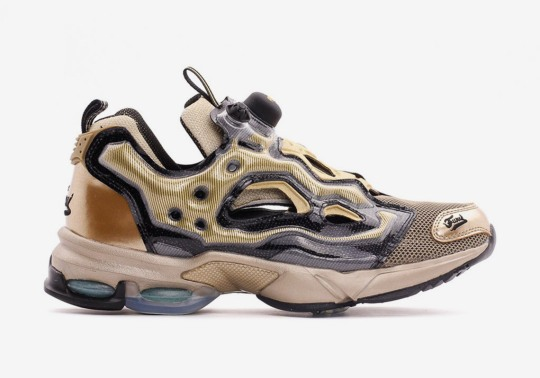 The Reebok Instapump Fury Millennium Resurfaces In A Bronzed Finish