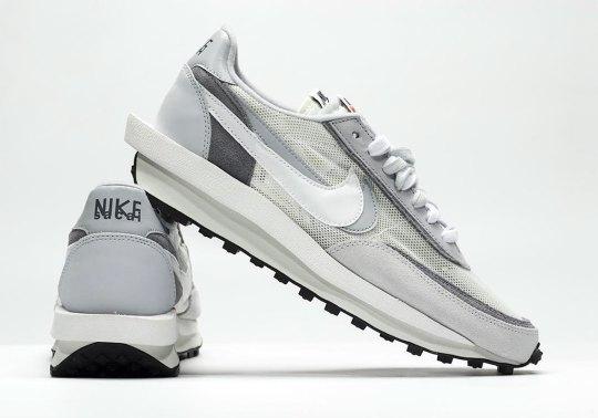 sacai x Nike LDV Waffle Releasing In Grey Tones