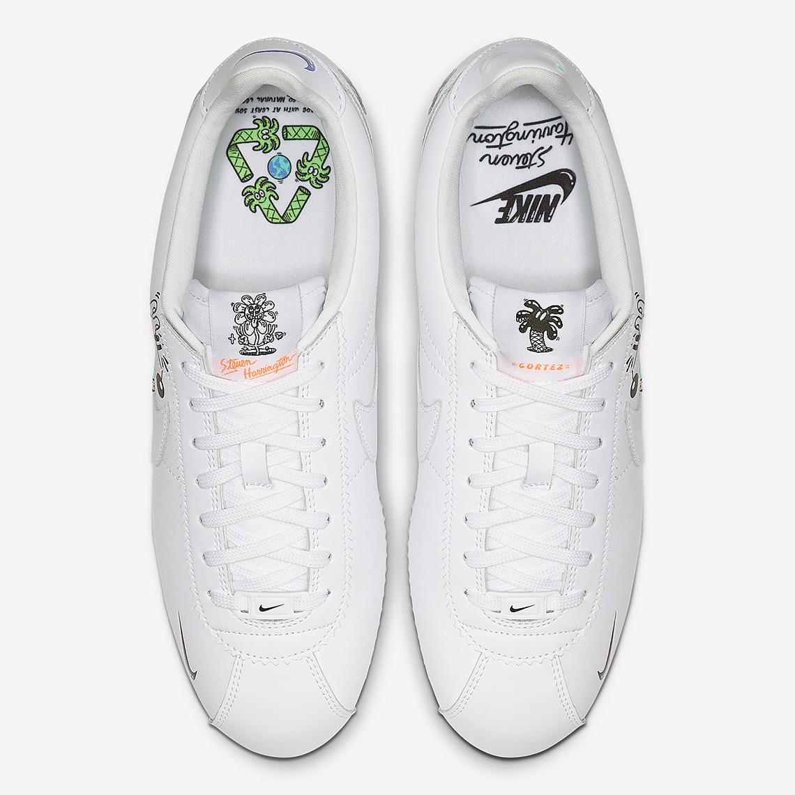 Steven Harrington x Nike Air Force 1 Earth Day 2019   Custom