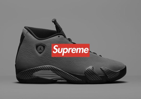 Supreme x Air Jordan 14 Collaboration Rumored To Release In Two Colorways