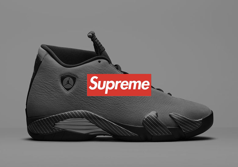 size 40 0efbc 31063 Supreme x Air Jordan 14 Collaboration Rumored To Release In Two Colorways