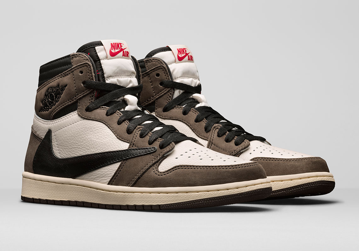 detailed look 33f96 25abe Travis Scott Air Jordan 1 Official Release Date ...