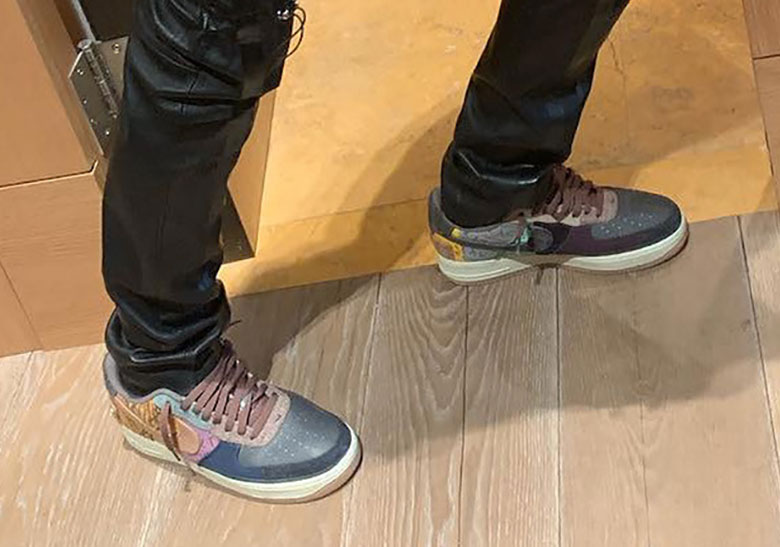 the best attitude 99913 08fab Travis Scott Nike Air Force 1 Low October 2019 Info ...
