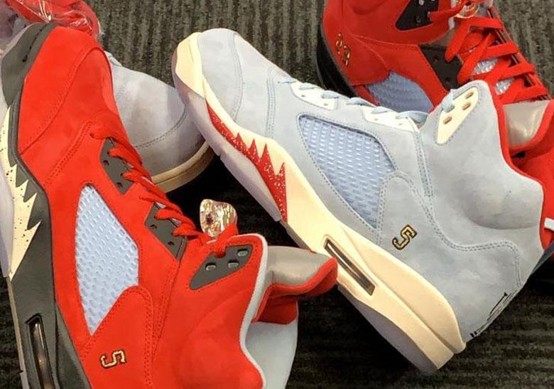 best loved c08fa a04cb Trophy Room Air Jordan 5 Release Info + Photos   SneakerNews.com