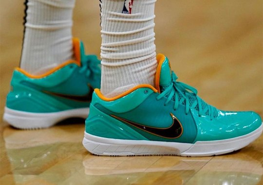 DeMar DeRozan Wears Undefeated x Nike Kobe 4 Protro