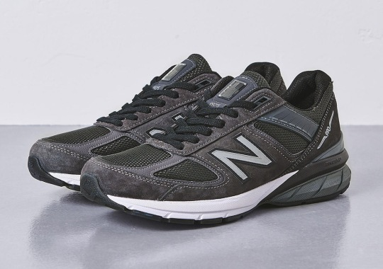 United Arrows Dims Down The New Balance 990v5 To A 5% Tint
