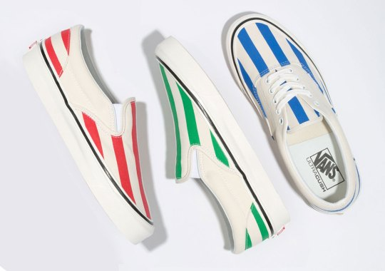 Vans' Candy-Stripe Pack Is Available Now