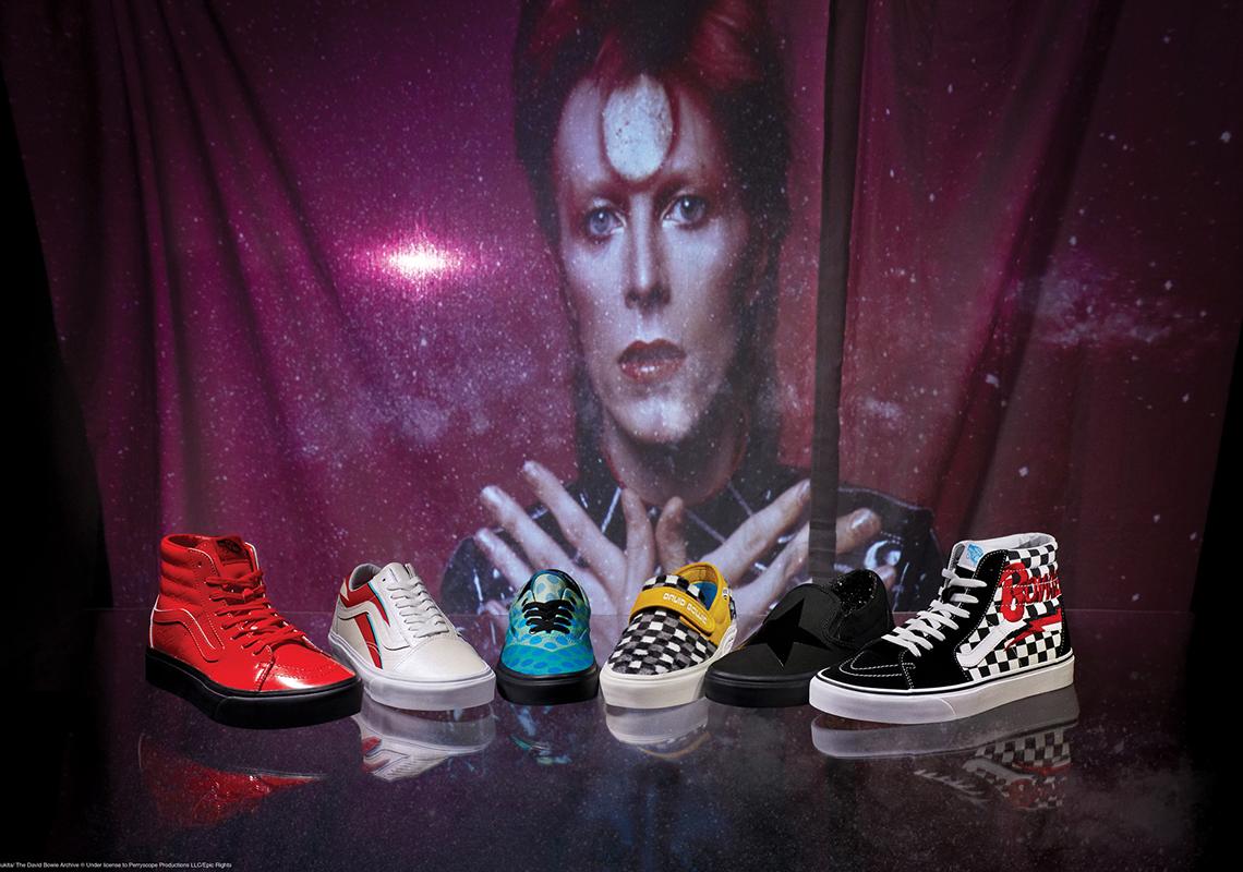 Optimista sirena subterráneo  David Bowie Vans Collection Release Info | SneakerNews.com