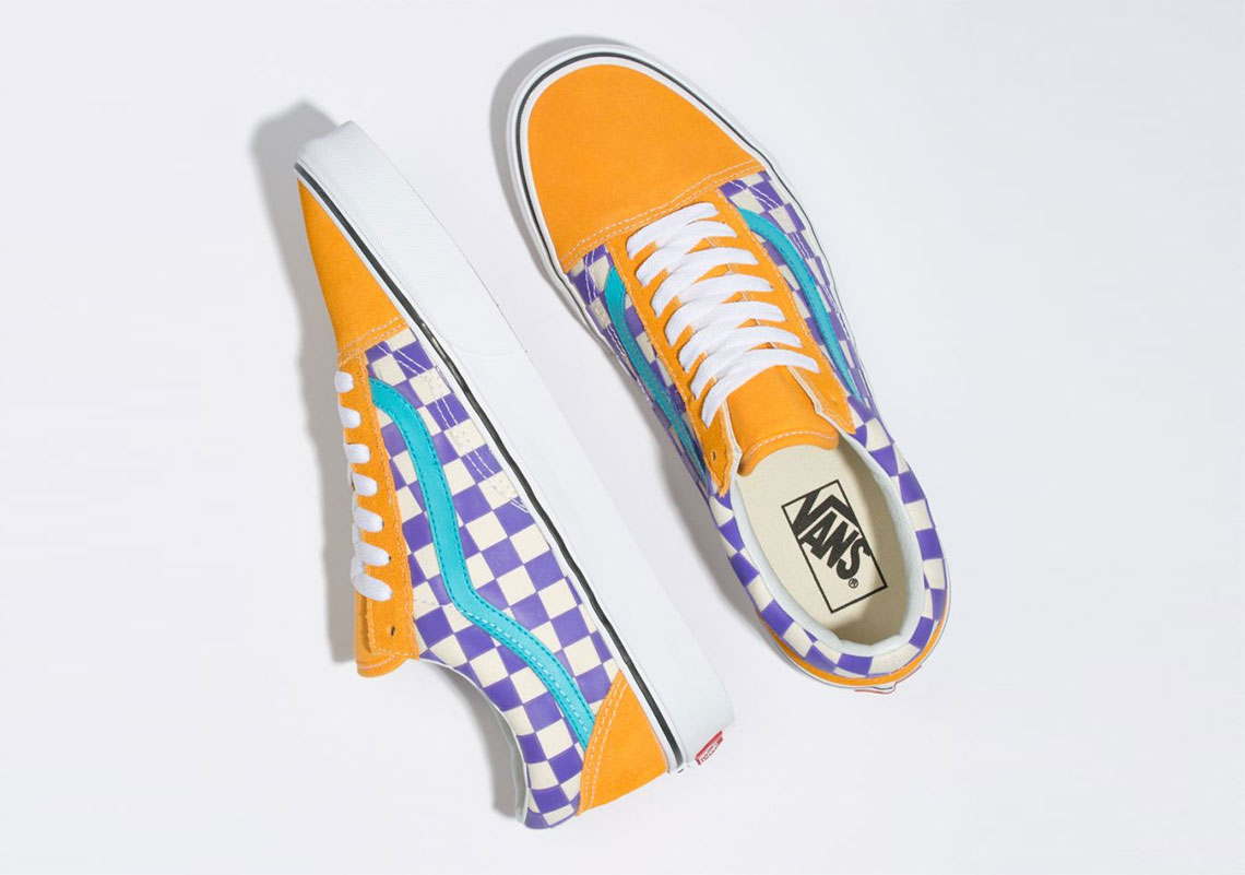 Vans Old Skool Thermochrome Color Changing Checkerboard