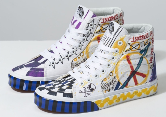 """The Vans """"Galactic Goddess"""" Pack For Women Adds Wild Graffiti Prints On Two Icons"""