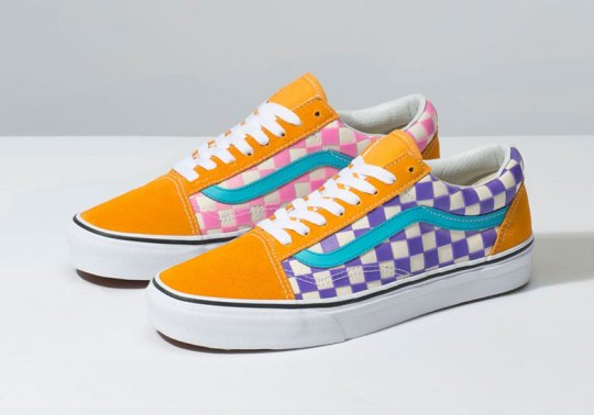 The Vans Thermochrome Pack Features Color-Shifting Checkerboard Prints