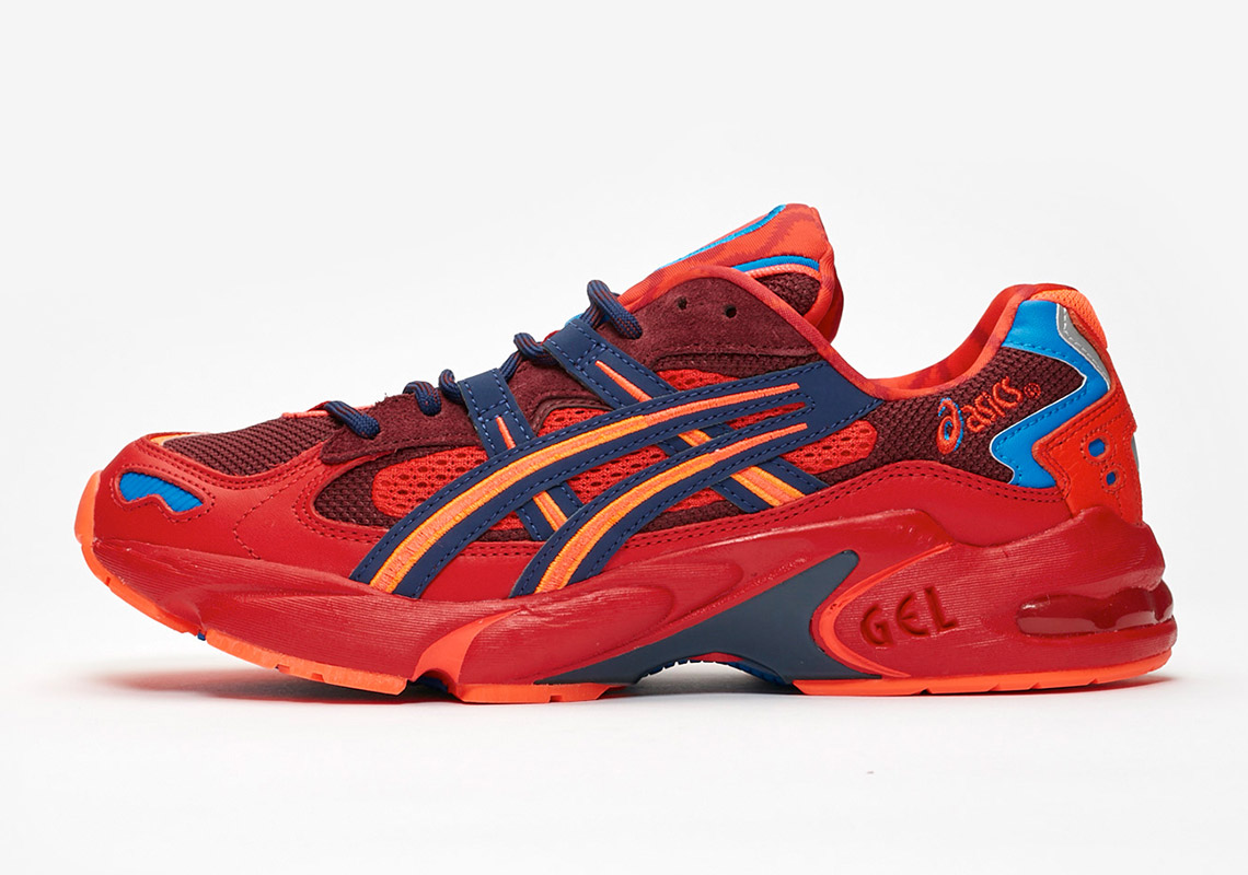 ASICS and Vivienne Westwood Bring Back Vibrant Archival Colors For the GEL-Kayano 5