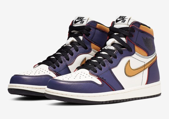 bf6544dba8d1 Official Images Of The Air Jordan 1 SB LA Chicago