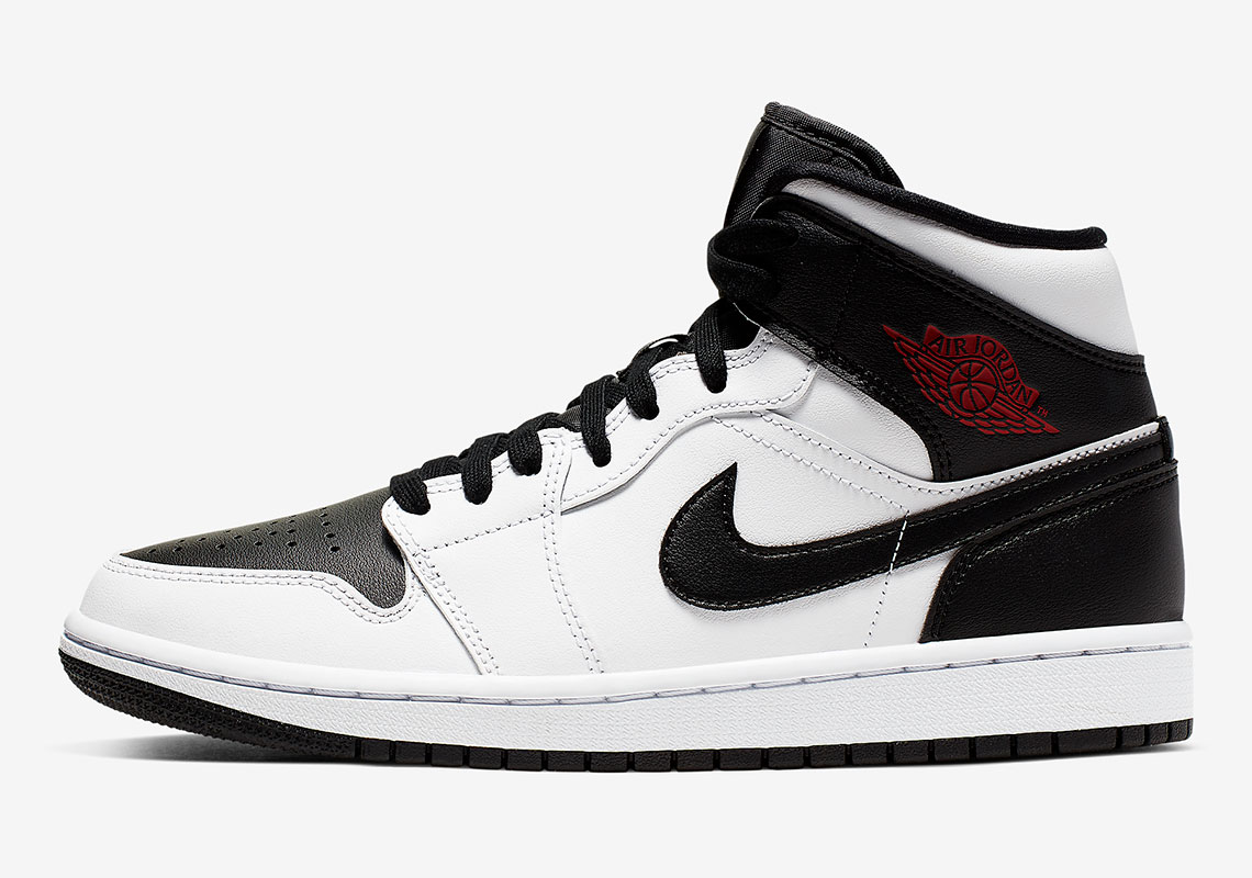 "low priced b3a08 e5068 Air Jordan 1 Mid ""Reverse Black Toe"" Is Coming Soon"