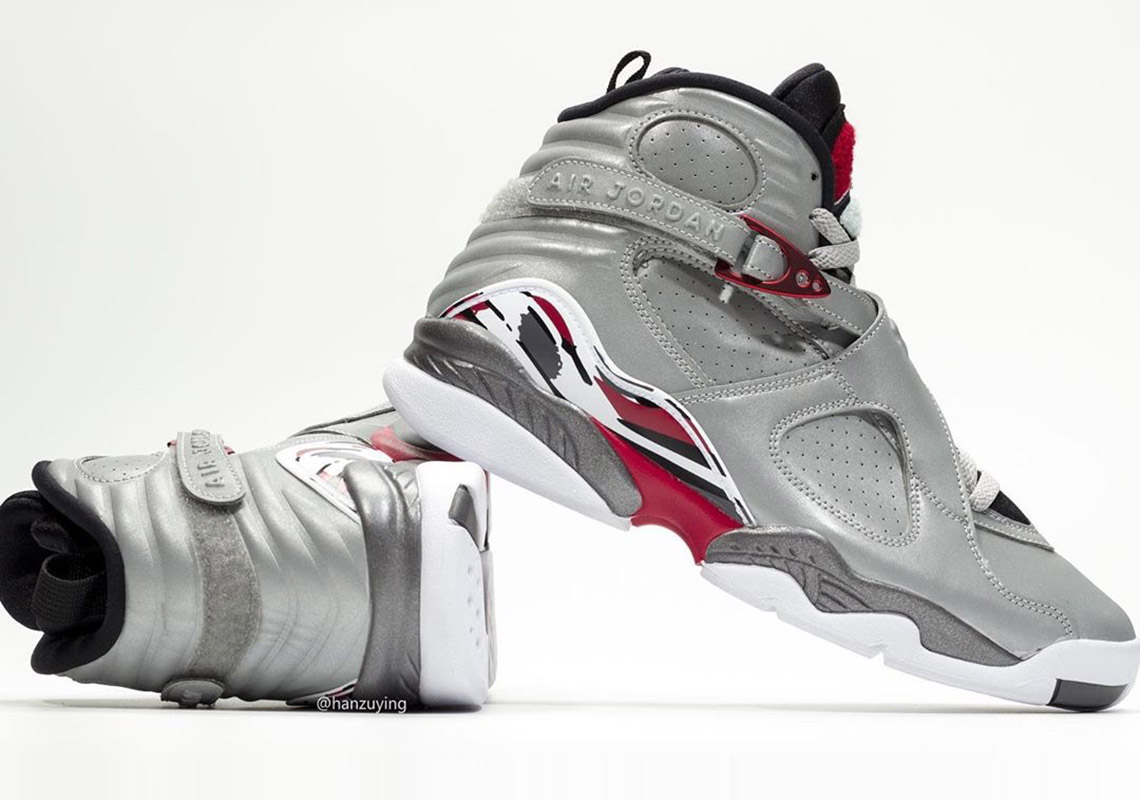 """super popular 71bd9 abd20 Detailed Look At The Air Jordan 8 """"Reflections Of A Champion ..."""