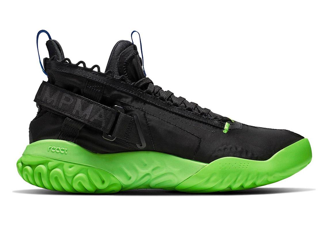 new arrival 1ea86 bbbda Jordan Proto React Available  150. Color  Black Blue Green